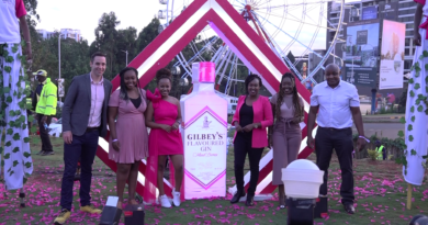 Gilbey's Mixed Berries Gin launch